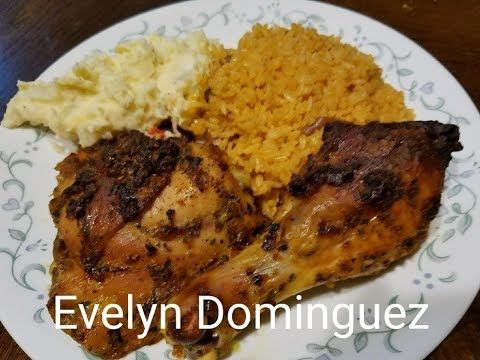 Puerto Rican Chicken Baked