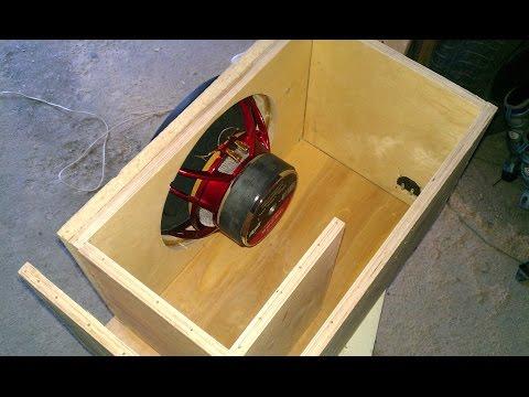 Как самому сделать короб для сабвуфера схема конструкция