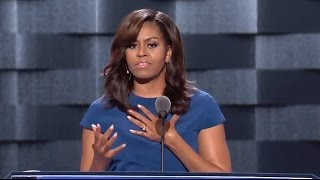 Michelle Obama - Makes Her Case For Hillary C...