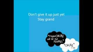the fault in our stars song by troye sivan (lyrics)