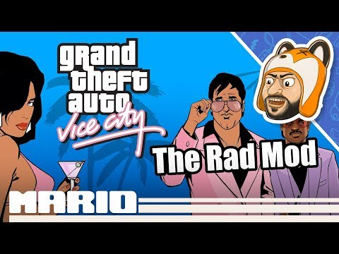 How To Install The Rad Mod For GTA: Vice City | Original Xbox Game Mods