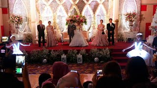 LED BALLET DANCE PERFORMANCE BALLET WEDDING DANCE INDONESIA