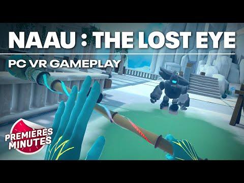 Naau : The Lost Eye - Gameplay PC VR (Oculus Rift, HTC Vive, Valve Index)