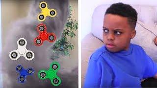 FIDGET SPINNER TWISTER vs Bad Baby Shiloh And Shasha - Onyx Kids