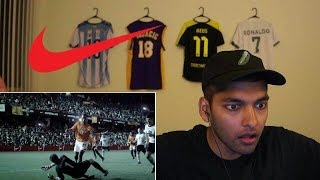 reacting to old nike soccer commercials 1
