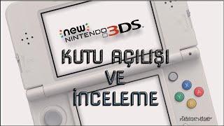 New Nintendo 3DS Kutu Açılışı ve İnceleme