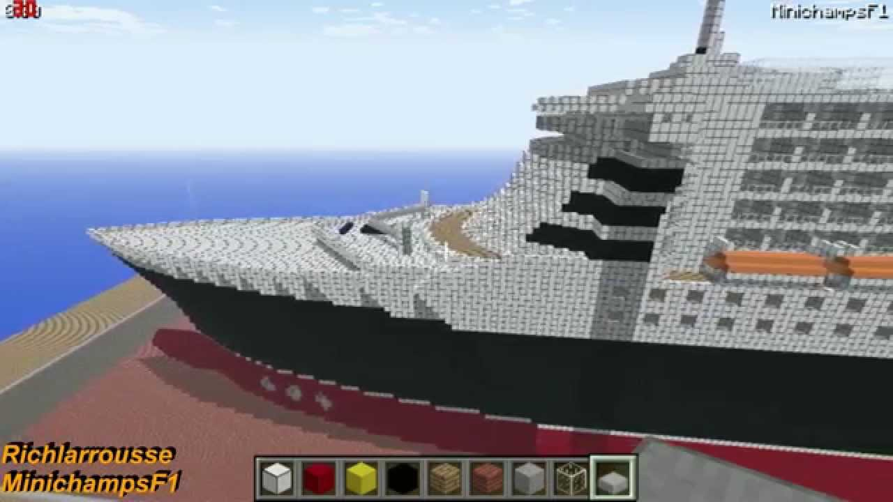 Minecraft Rms Queen Mary 2 Preview Youtube