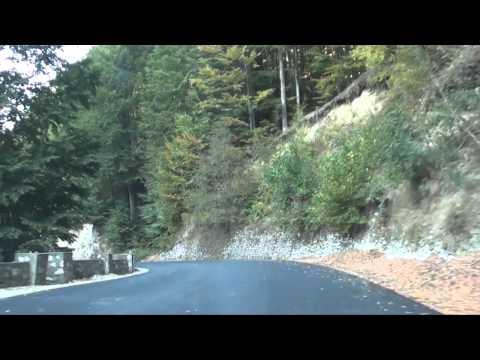 Driving In Romania-Novaci-Tg.Jiu-Baile Herculane 3/4
