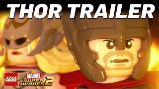 Official LEGO Marvel Super Heroes 2 Thor Vignette