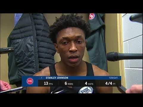 Pistons LIVE 12.15.17: Stanley Johnson