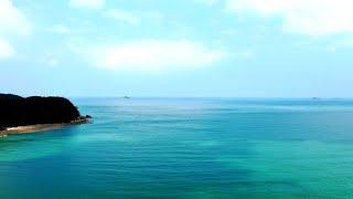 태안 구례포 해수욕장 드론 캠핑