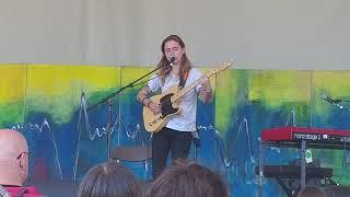 "Julien Baker performs ""Song in E"" at Winnipeg Folk Fest live"