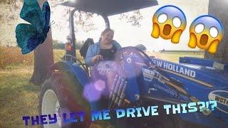 I Got to Drive aTractor?!?
