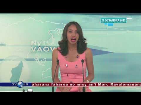 VAOVAO DU 21 DECEMBRE 2017 BY TV PLUS MADAGASCAR