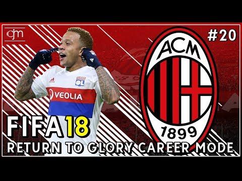 FIFA 18 AC Milan Career Mode: Memphis Depay Segera Merapat Ke San Siro Dengan Harga Tinggi?! #20
