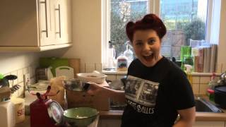 Ration Book Challenge- Rhubarb Crumble