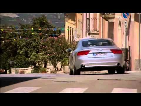 Papercraft Audi A7 Sportback 30 TDI - On the road in Sardinia (Long Version)