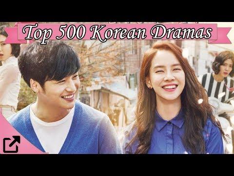Top 500 Korean Dramas 2016 (All The Time)
