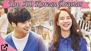 Video Top 500 Korean Dramas 2016 (All The Time) download MP3, 3GP, MP4, WEBM, AVI, FLV Maret 2018