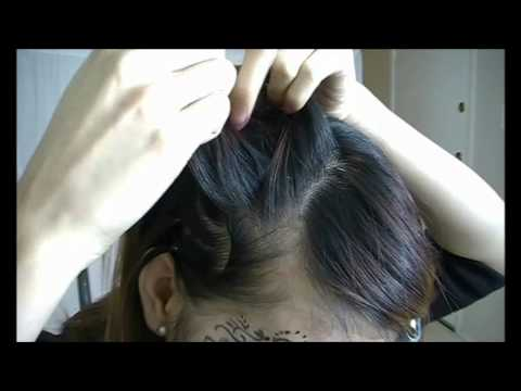 BoA Energetic Inspired UpDo With Waves