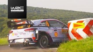 WRC - ADAC Rallye Deutschland 2017: Shakedown Highlights