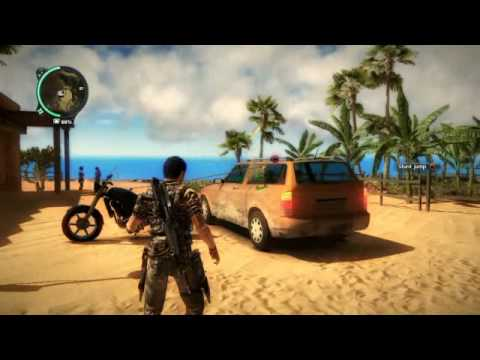 Just Cause 2 cheat tutorial