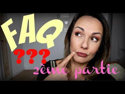 FAQ 2018 2EME PARTIE : Vivre de youtube, job de rêve, voyage...