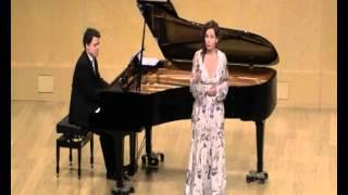 """M. Blancafort/J. Carner: """"Quatre cançons"""" 4. Aigües de la primavera"""