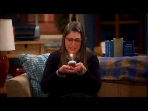 The Big Bang Theory Happy Birthday Amy Youtube