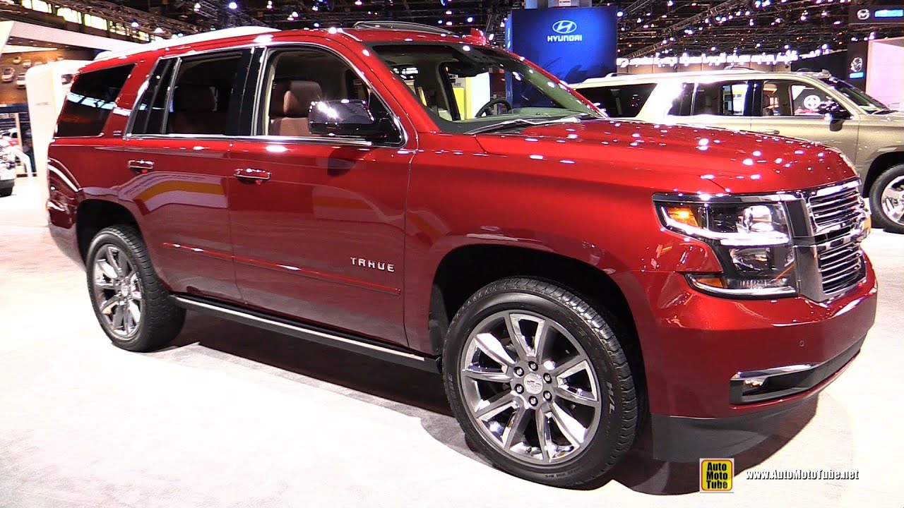 2016 Chevrolet Tahoe Ltz Exterior And Interior Walkaround Chicago Auto Show You