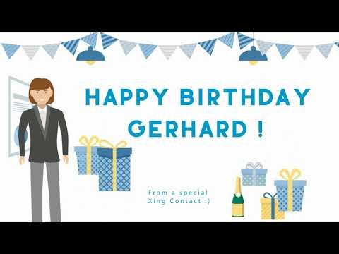 Happy Birthday Gerhard (01.09. Office Dance)