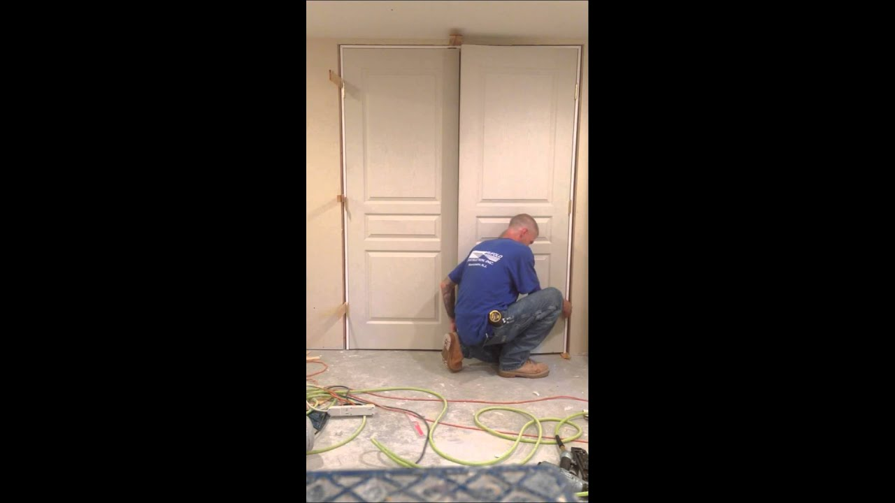How To Install A Double Prehung Door In Less Than 10