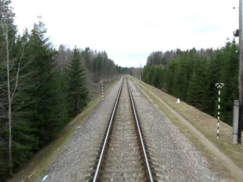 пригородный поезд Великие Луки - Бологое