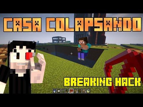 Breaking Hack : CASA COLAPSANDO ! ( Cazando Hackers #9 ) | Zetacraft - Minecraft |