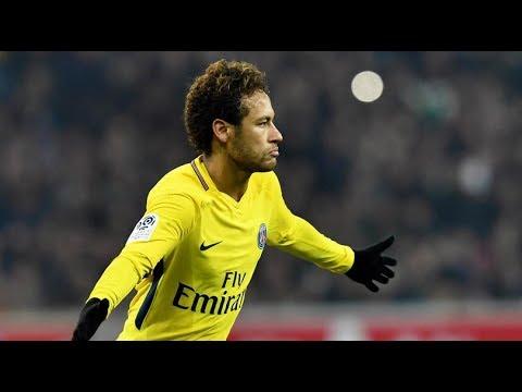 Brilliant Free Kick From Neymar vs Lille 3/2/2018 HD