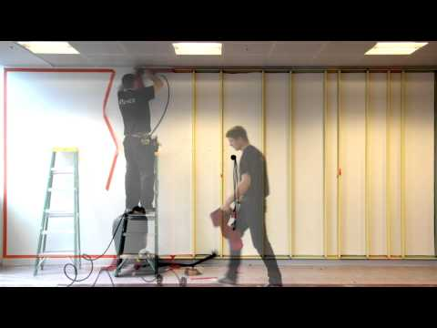 Acoustic Fabric Walling