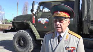 КУРСАНТЫ ВОЕННЫЕ - ВОДИТЕЛИ - ЭКЗАМЕН СДАН