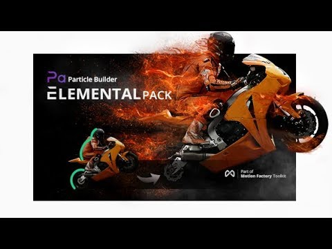 Particle Builder | Elemental Gear: Fire Sand Smoke Particular Presets by Pixflow (Best Seller)