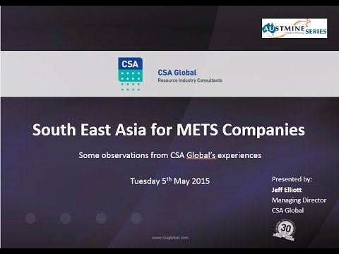 CSA Global South East Asia Presentation, 5th May 2015 - Full