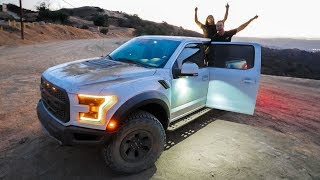TAKING DELIVERY OF A '18 FORD RAPTOR AND IMMEDIATELY OFF-ROADING IT