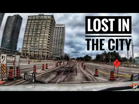 My Trucking Life | LOST IN THE CITY | #1957