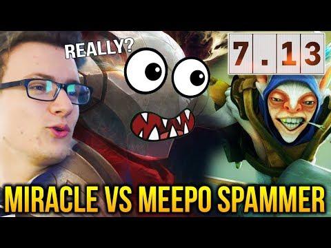 Miracle Sven 7.13 vs 1688 Matches Meepo Player Dota 2 thumbnail