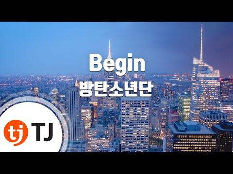 [TJ노래방] Begin - 방탄소년단(BTS) / TJ Karaoke