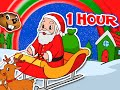 Santa Claus is Coming to Town More 1 Hour Kids Christmas Songs Carols Rudolph, Jingle Bells