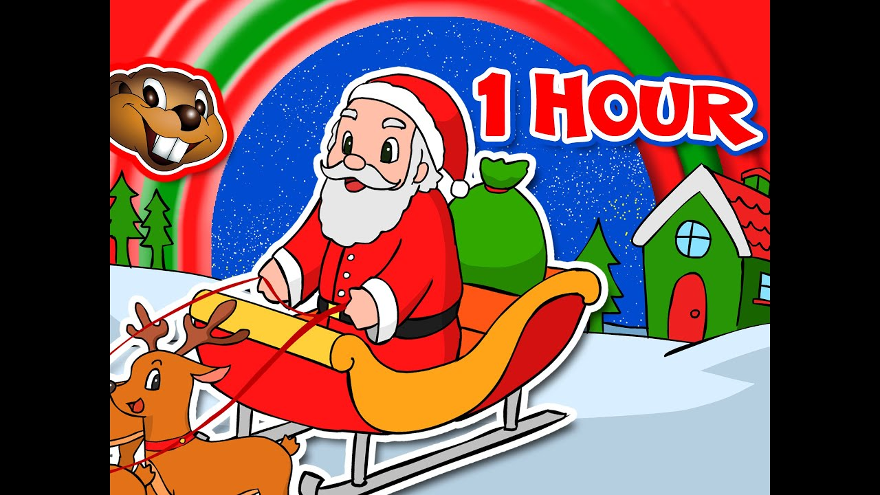 Santa Claus is Coming to Town + More | 1 Hour Kids Christmas Songs ...