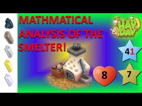 HAY DAY -  SMELTER ANALYSIS! MOST PROFITABLE SMELTER PRODUCT REVEALED!