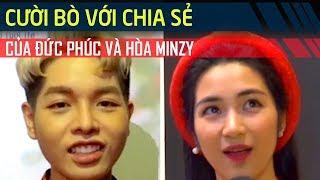 'Cười bò' với những chia sẻ của Đức Phúc và Hòa Minzy khi được phỏng vấn | Giải Trí 24h