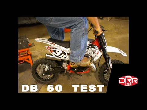 drr db50 test with a big adult rider 50cc 2 stroke new pipe and re jetted ktm yamaha pw 50 youtube. Black Bedroom Furniture Sets. Home Design Ideas