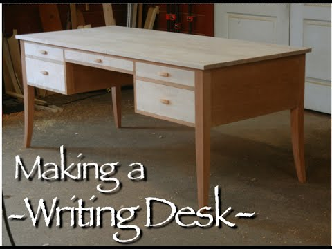 Writing Desk Building Process by Doucette and Wolfe ...