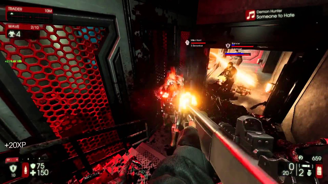 Killing floor 2 custom maps max player 60fps youtube for Floor 5 map swordburst 2